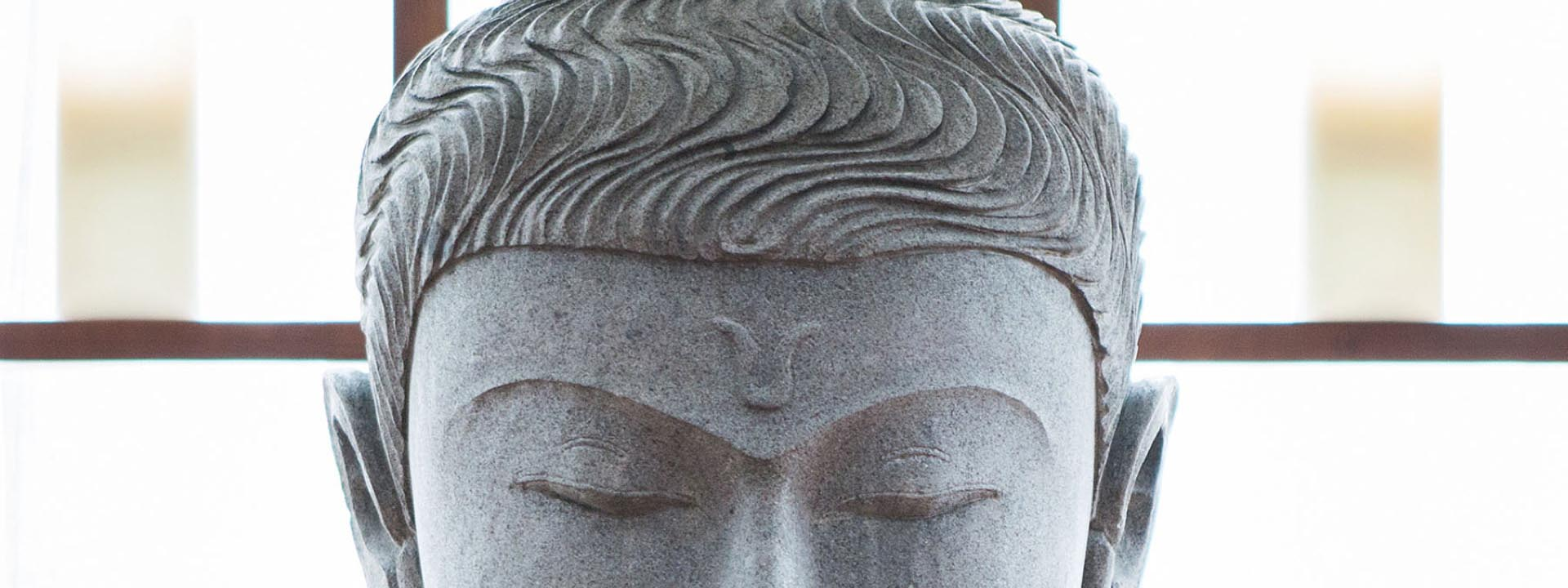 Kopf Buddha Detail
